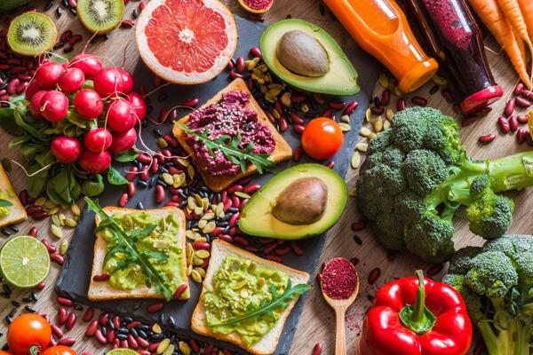 vegán étrend