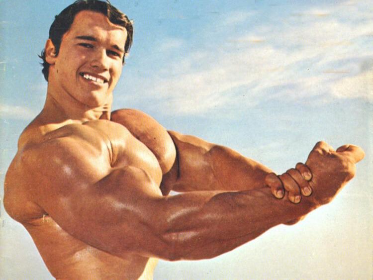 Arnold Schwarzenegger edzésterve