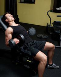 bicepszezés ferde padon