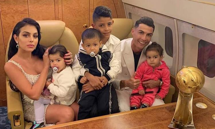 Cristiano Ronaldo gyerekei
