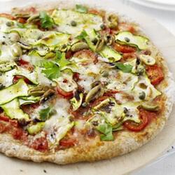Egészséges pizza recept