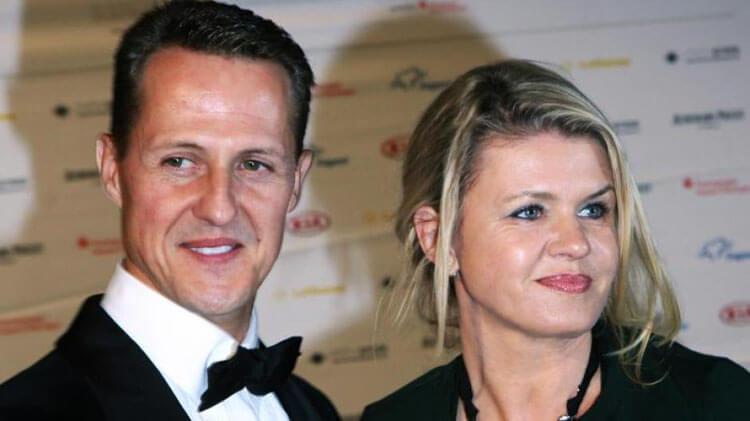 Michael Schumacher felesége