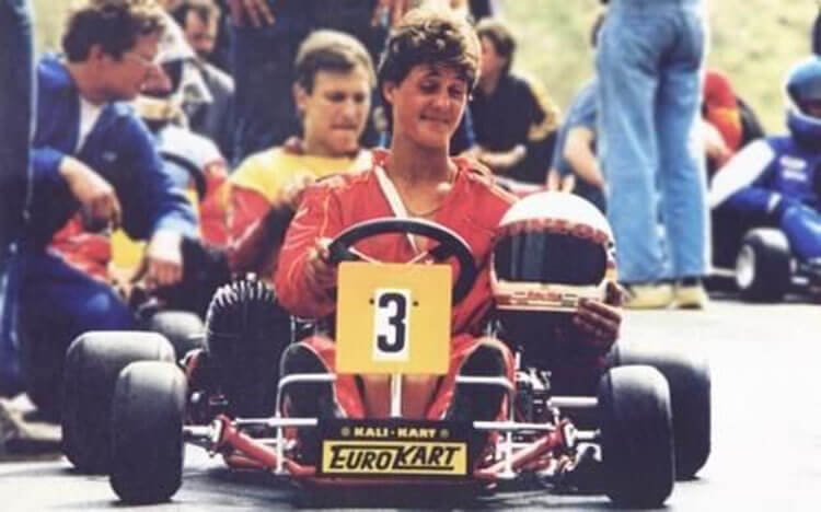 Michael Schumacher gokartos korszak