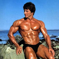 Frank Zane testépítő Mr. Olympia