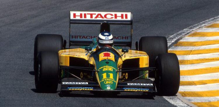 Mika Hakkinen Lotus Forma 1