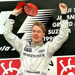 Mika Hakkinen Forma-1 versenyző