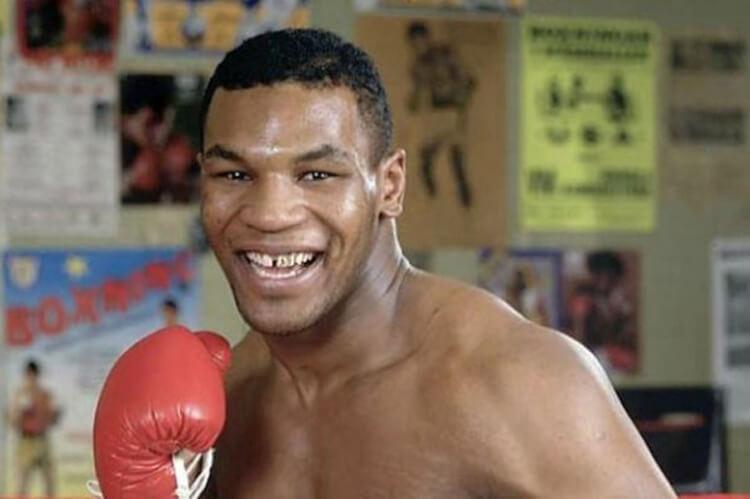 Mike Tyson fiatalon
