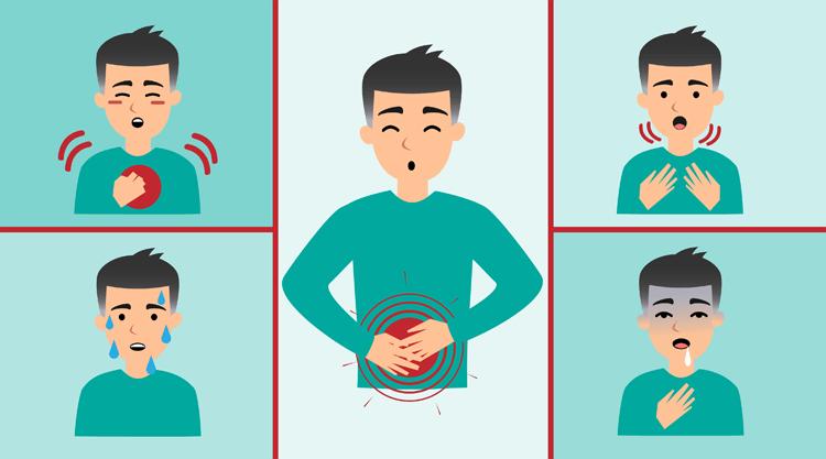 A szívinfarktus tünetei