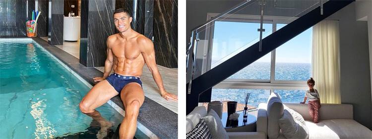 Cristiano Ronaldo háza