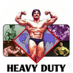 Mike Mentzer Heavy Duty edzésterv és jelentése