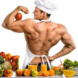 Testépítő ételek és étrend