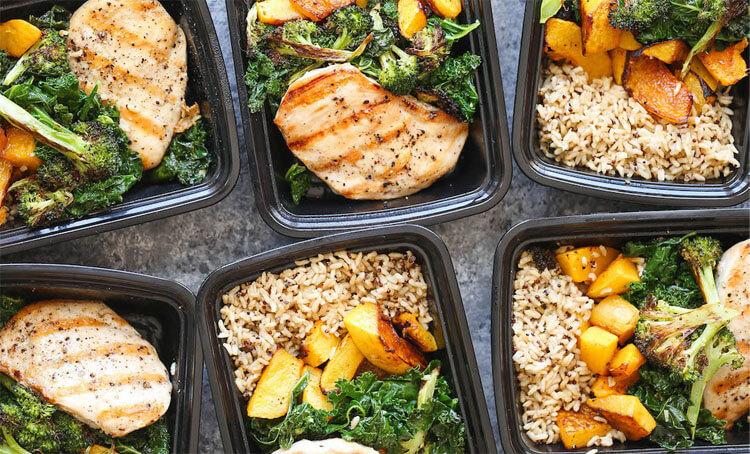 Változatos testépítő étrend