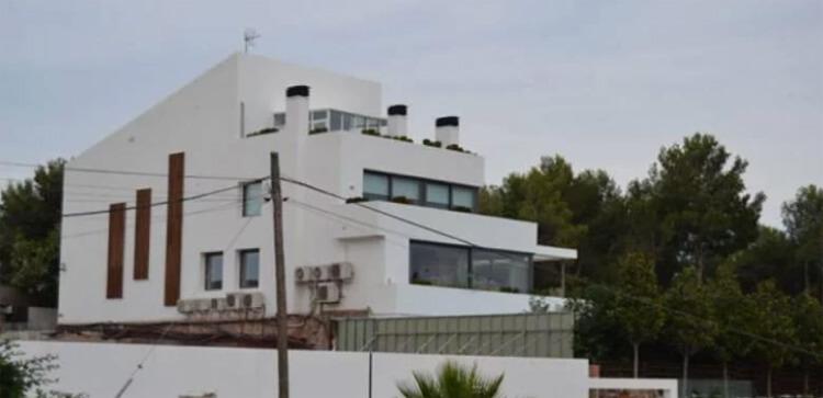Lionel Messi Argentin háza