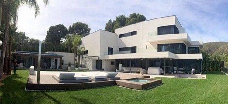 Lionel Messi háza Barcelonában