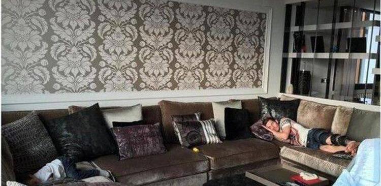 Lionel Messi ház belseje