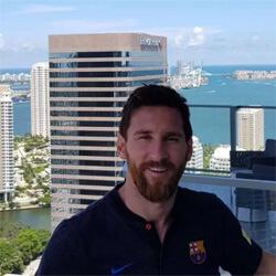 Lionel Messi háza