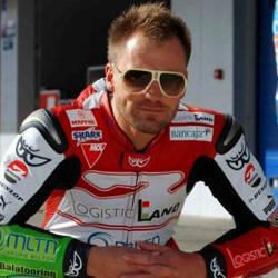 Talmácsi Gábor világbajnok MotoGP versenyző