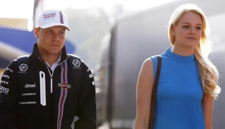 Valtteri Bottas felesége