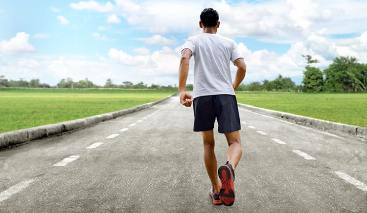 gyaloglás sebessége
