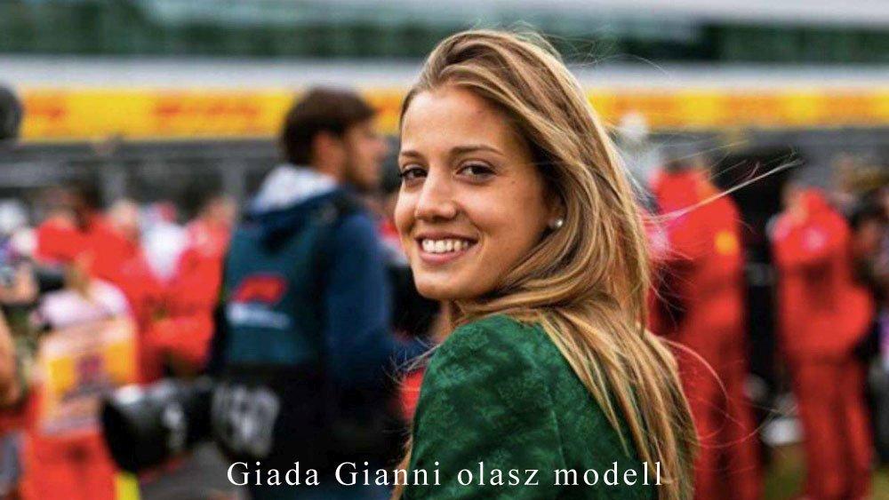 Giada Gianni olasz modell
